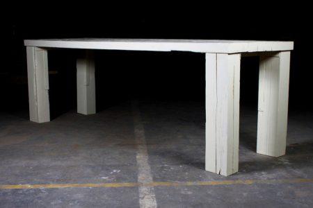 Table Moldy Pinewood
